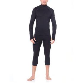 Icebreaker 150 Zone LS Half-Zip Shirt Herr black/mineral